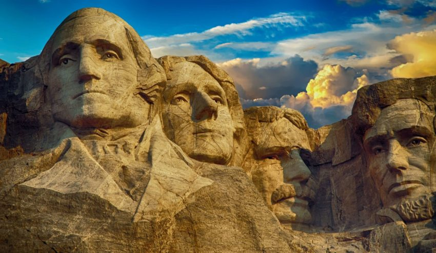 Our former U.S. Presidents that will always inspire us to follow our dreams, commemorated here at Mount Rushmore.