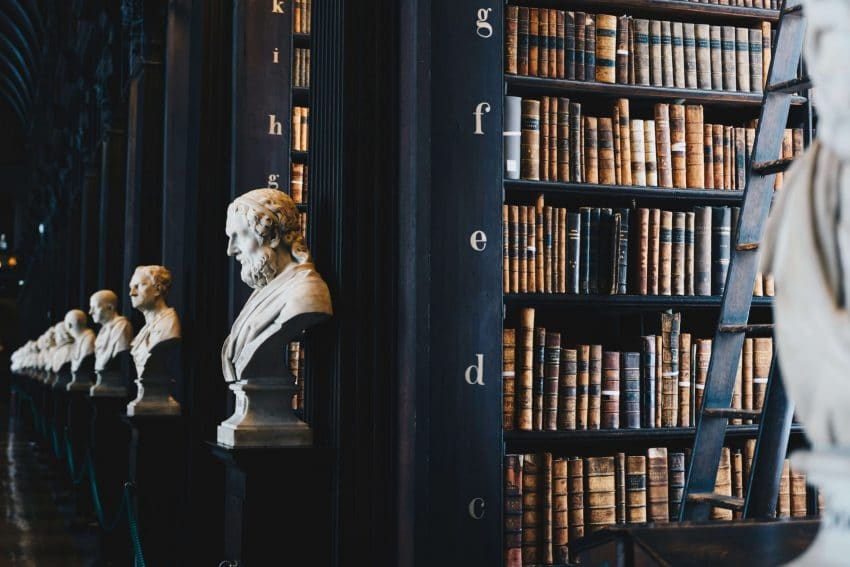 Take a walk through any library to find countless books about history