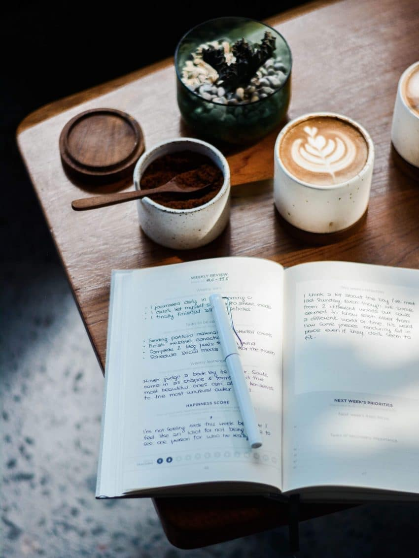 Journaling and self-reflection while spending time off in a gap year