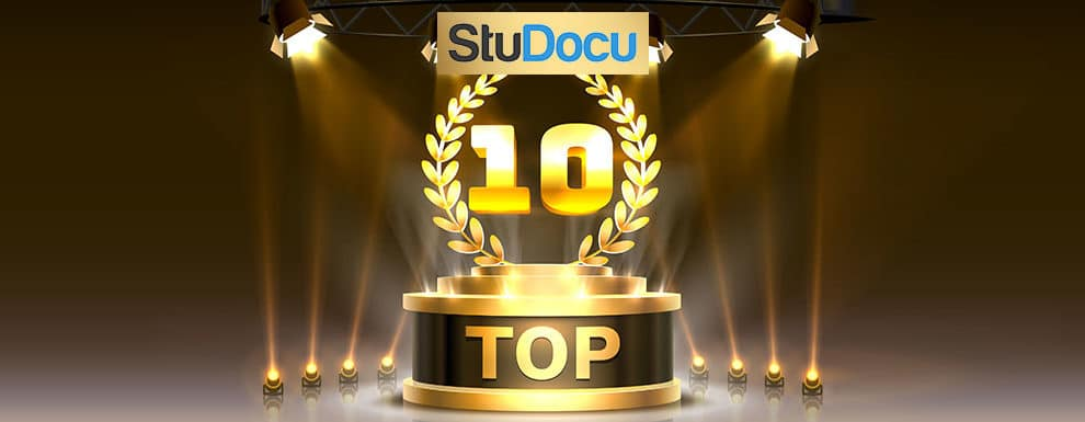 UoPeople Ranked Top 10 In The StuDocu World University Ranking!